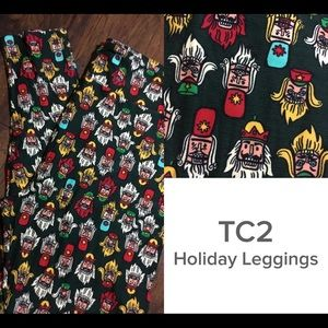 New Lularoe TC2 Holiday Leggings - nutcrackers